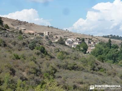 Barranco de la Hoz - Sierra de la Muela;grazalema camino buitrago de lozoya madroño